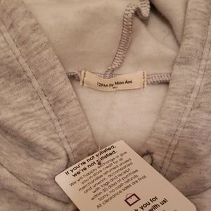 12 Pm By Mon Ami Tops - 12 PM by Mon Ami NWT hoodie, kangaroo pocket